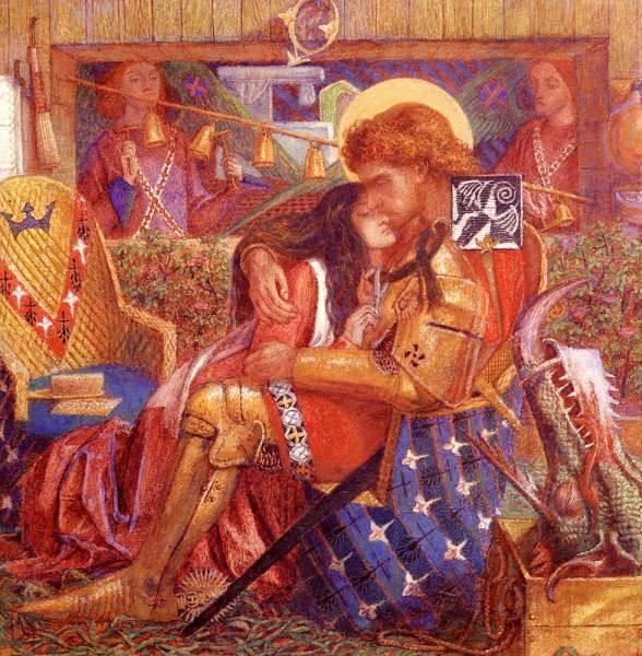 The wedding Of Saint George And The Princess Sabra